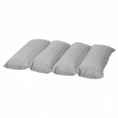 ОМТЭНКСАМ Многофункциональная подушка, серый, 50x75 см