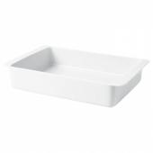 ИКЕА/365+ Форма для духовки, белый, 38x26 см