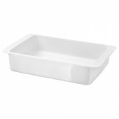 ИКЕА/365+ Форма для духовки, белый, 32x20 см