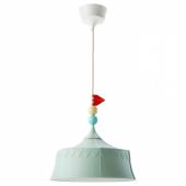 ТРОЛЛЬБО Подвесной светильник, светло-зеленый