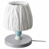 ЛАНТЛИГ Настольная лампа, светодиодная, серый