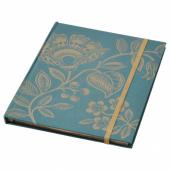 АНИЛИНАРЕ Книжка для записей, зеленый, золотой, 20x16 см