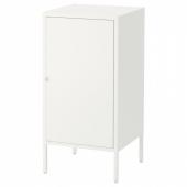 ХЭЛЛАН Комбинация для хранения с дверцами, белый, 45x47x92 см